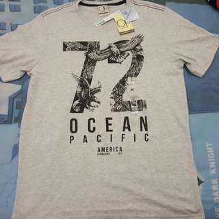 Kaos Ocean Pacific Asli Original