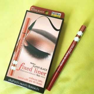 Mistine eyeliner 眼線液 眼線筆 黑色 防水 不暈染