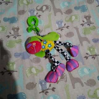 Hanging toy for cribs or strollers