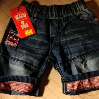Celana color jeans pendek import