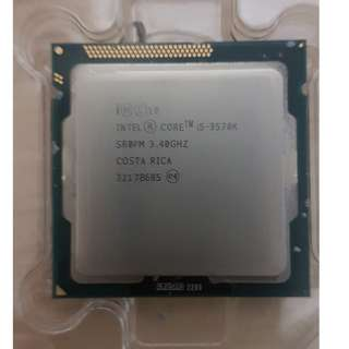 Intel Core i5-3570K  (CPU ONLY)
