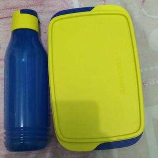 Tupperware Eco Blue