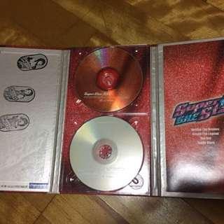 🚚 S.H.E 親手蓋章super star cd+vcd 二手專輯