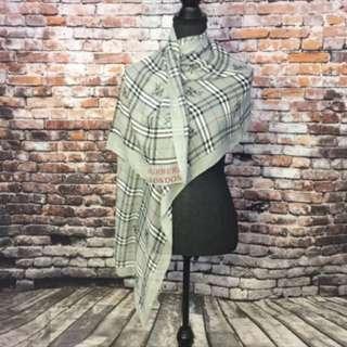 Burberry London silk scarf