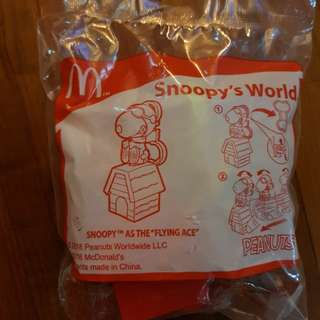 Snoopy Happy Meal Toy