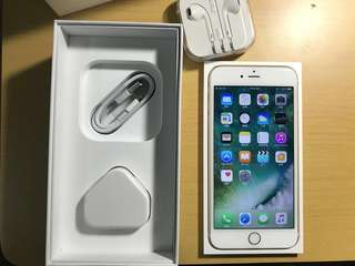 iPhone 6s plus 64 GB 98% new 玫瑰金 Rose gold