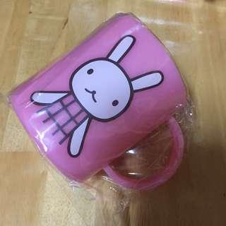 🚚 阿郎基-兔子塑膠杯漱口杯-日本專賣店限定商品#超取再七折