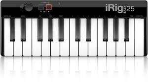IRIG 25 keys USB midi keyboard