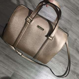 Kate Spade Rose Gold Speedy