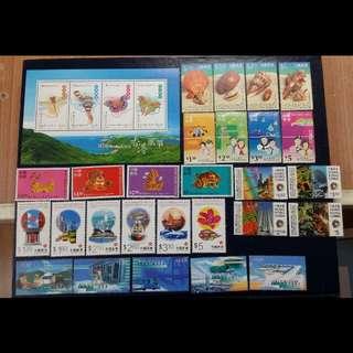 全新1997年,1998年,7個不同系列郵票, 圖案美觀,收藏或郵寄均可,不是廢票,總面值$86.7,只售$100包郵局平郵費,掛號另費。(保證100%真票,否則賣家願意負上一切責任) ~面交只限星期一至五,6:45pm灣仔或金鐘站,7:00pm尖沙咀港鐵站。 ~六~日或假日任何時間西灣河地鐵站,有興趣請留言(請認真購買)
