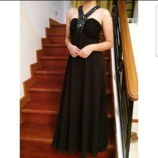 Black Long Gown (FOR RENT ONLY)