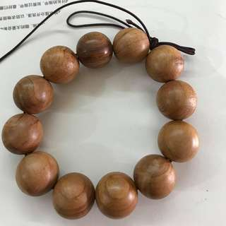 Natural Cypress wood bracelet