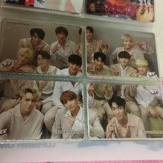 Seventeen yes 卡×8