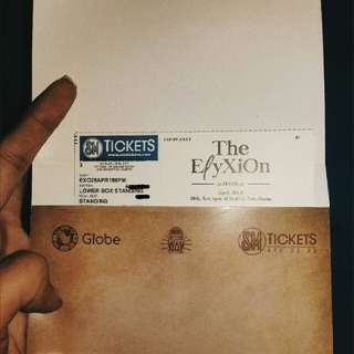 EXO - LOWER BOX STANDING (EℓyXion In Manila)