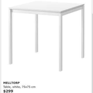 [FREE] IKEA dining table 餐檯 枱