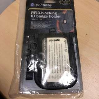 Pacsafe RFID ID badge