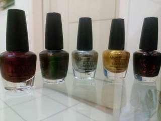 5pcs O.P.I nail lacquer A *