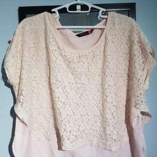 Woman Plus Pink Top