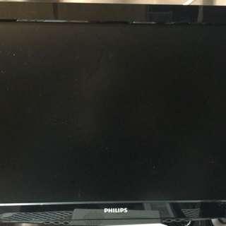 24寸 Mon 功能正常 完全冇壞 冇HDMI 睇岩大埔交收不議價!