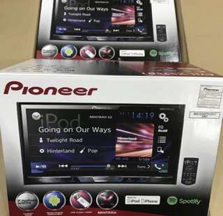 Pioneer AVH-X595BT USB DVD BT player