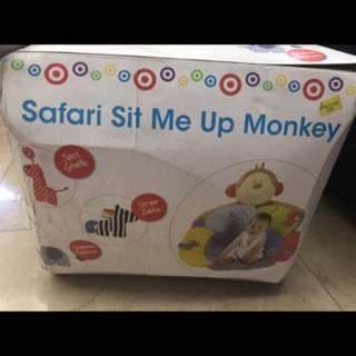 Safari Sit Me Up Monkey Elephant