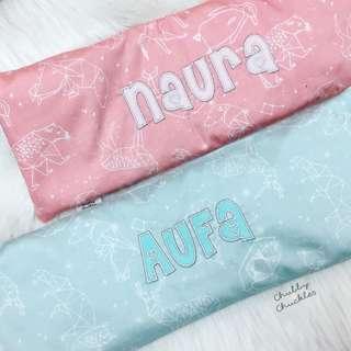 Organic husk pillow customize