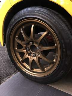 rays volks racing ce28 16 bronze
