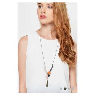 (PO) Asymmetrical Shapes Necklace