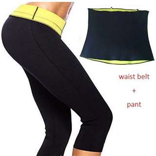 INSTOCK Waist Pants Shaper / Waistband Neoprene Slim Pants B