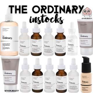 [CLEARANCE] The Ordinary Instocks