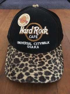 Hard Rock Cafe Osaka Leopard Print Cap