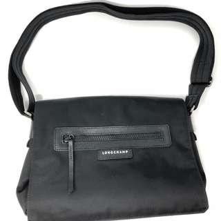Longchamp Le Pliage Neo Messenger Bag - Black