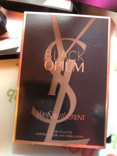 YSL Black OPIUM Eau De Toilette 1.2ml