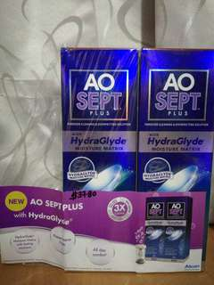 AO Sept Plus Contact Lense Solution