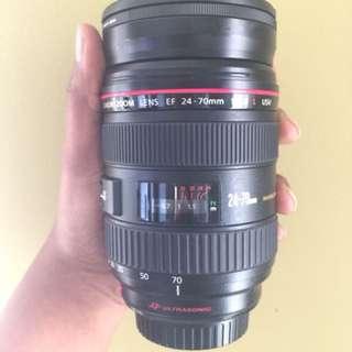 Canon EF 24-70mm f/2.8 L lens