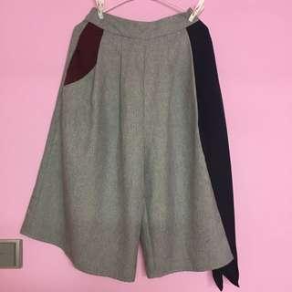 全新韓國款併布裙褲