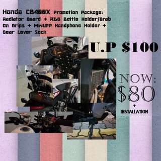 Promotion Package for ALL Honda CB400X owners!!