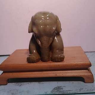 壽山石刻大象