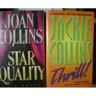 STAR QUALITY JoanCollins & THRILL JackieCollins