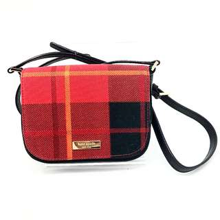 Kate Spade Plaid Crossbody Purse - Newbury Lane