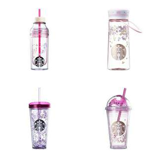 (PRE-ORDER) STARBUCKS SPRING-THEMED COLLECTIONS: TUMBLER MUG COLDCUP WATERBOTTLE THERMOS