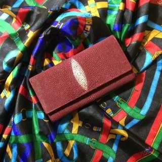 🚚 泰國 珍珠魚錢包 魟魚皮夾