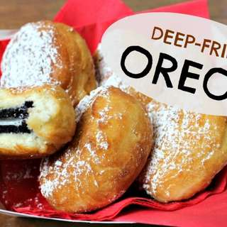 Deep fried oreos (made to order)