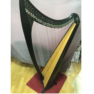 Lever Harp 40 Strings, can use for practice to Grade 8