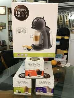 咖啡機全新連膠囊