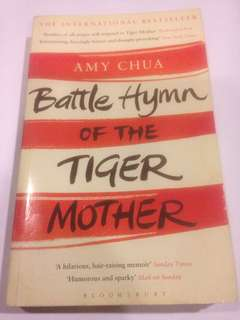 Battle Hymn of the Tiger Mother y Amy Chua