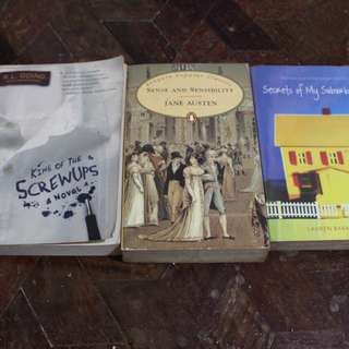 3 BOOKS FOR PRICE OF 1!!!