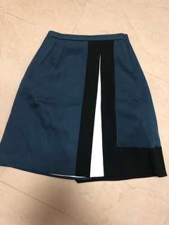 Jil Sanders navy skirt
