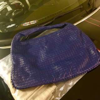 BV Hobo Blue Large Bottega Veneta