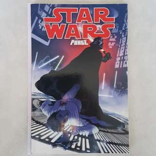 Dark Horse Comics Star Wars Purge TPB First Print Rare